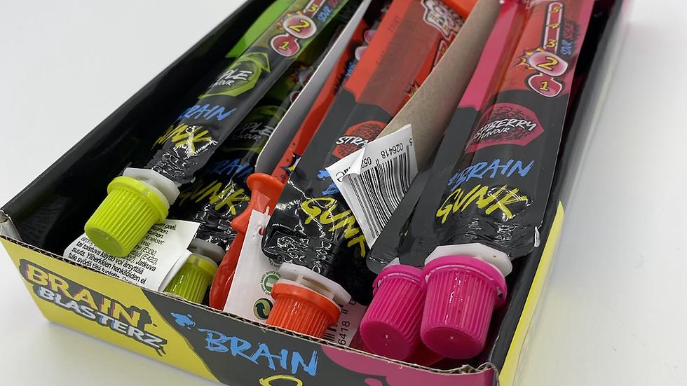 Brain blaster brain gunk