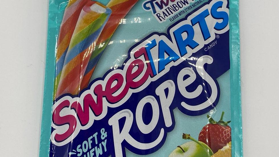 Sweetarts twisted rainbow punch ropes