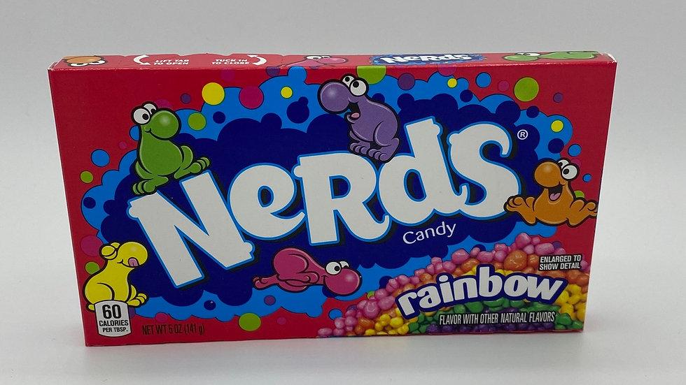 Rainbow nerds cinema box