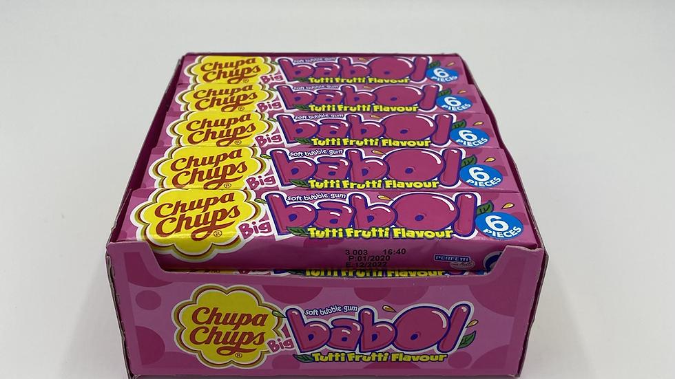 Chupa chups Babol gum tutti fruitti
