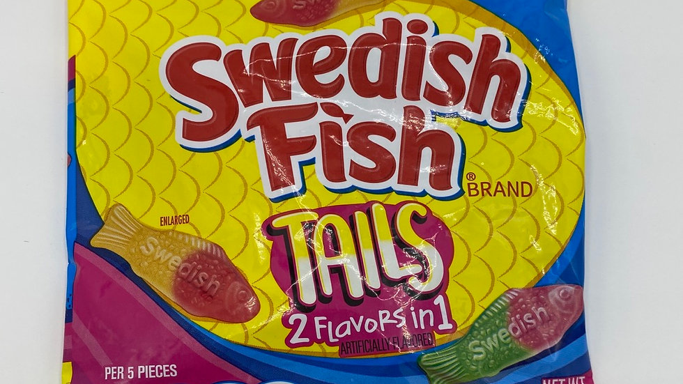 Swedish fish tails 2 in 1 (141g)
