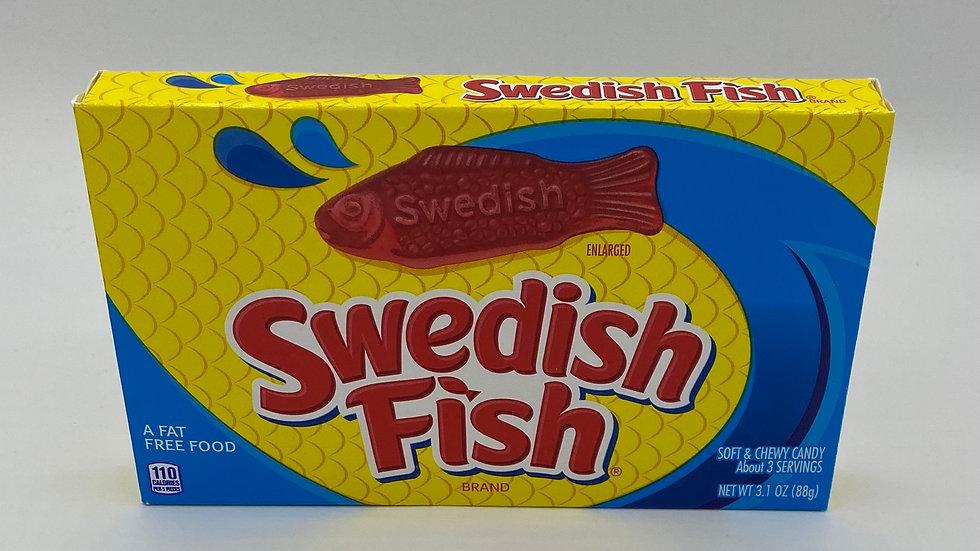 Swedish fish cinema box