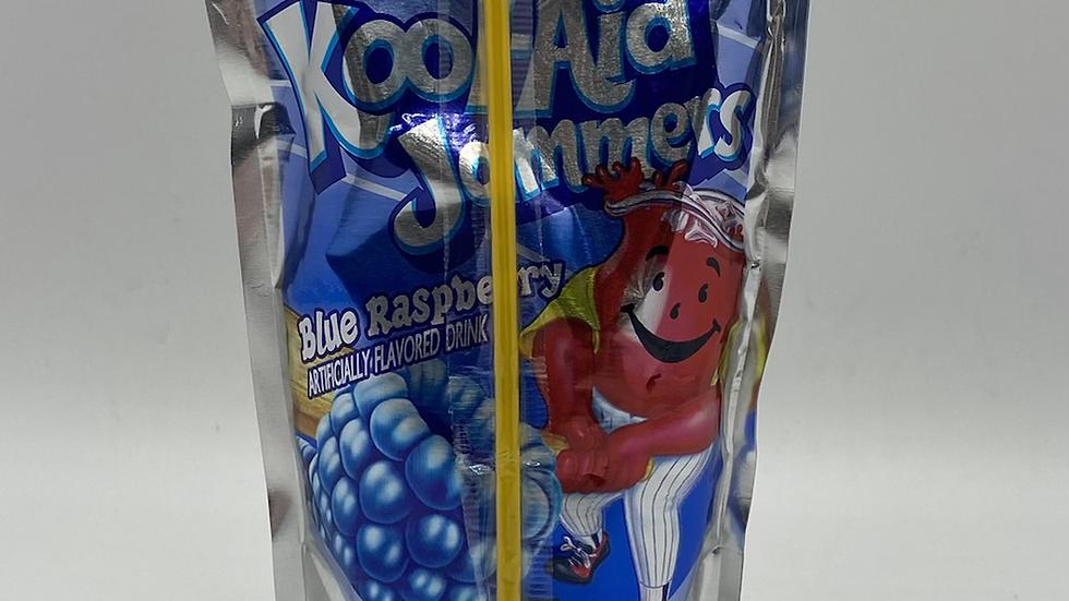 Kool-aid jammers blue raspberry