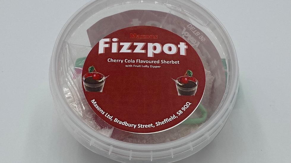 Cherry cola fizzpots
