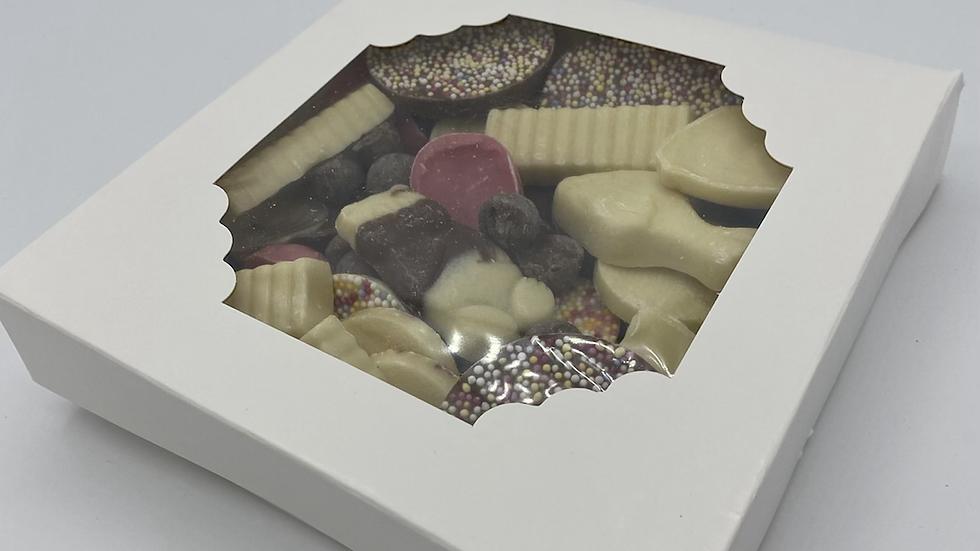 Retro chocolate gift box