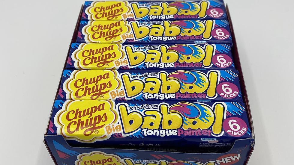 Chupa chups babol tongue painter gum