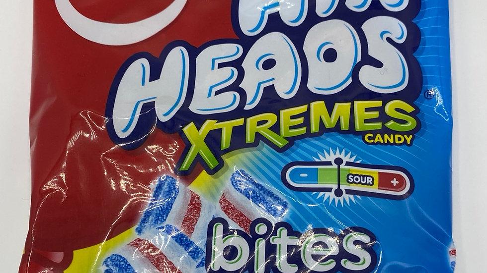 Airheads Xtrenes bluest raspberry bites