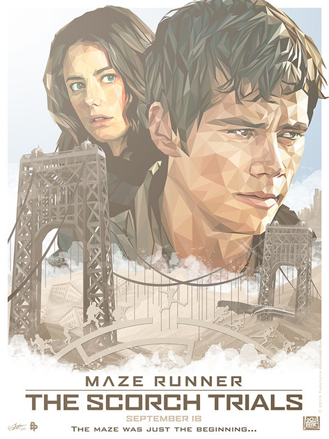 Official poster for Maze Runner