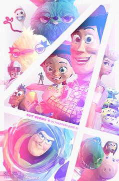 Simon Delart - Poster Posse - Toy Story