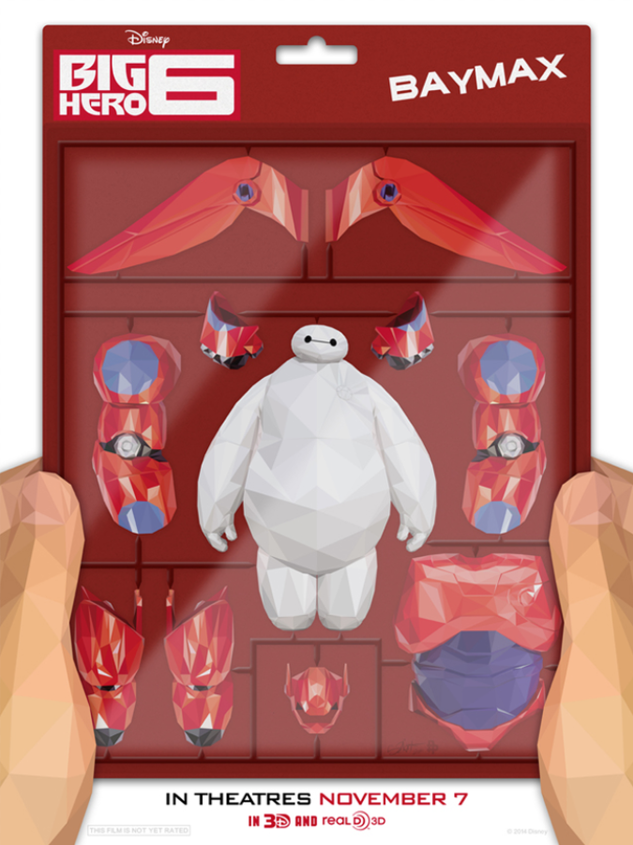 Official poster for Big Hero 6