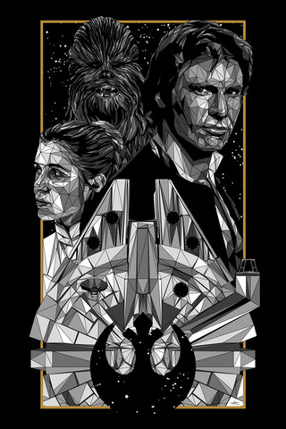 Official poster for Star Wars
