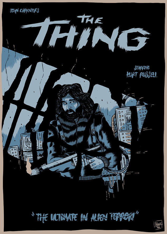 Illustration for The Thing Art Book