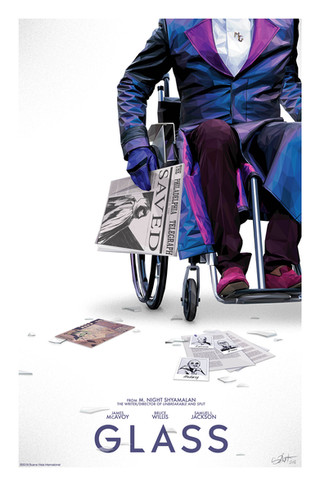 Official poster for Glass