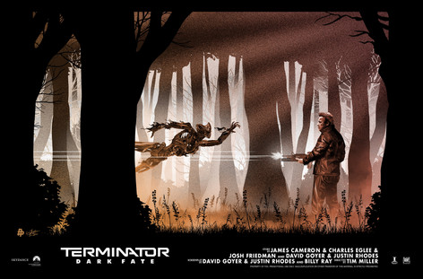 Official Poster for Terminator Dark Fate