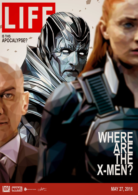 Official poster for X-Men Apocalypse