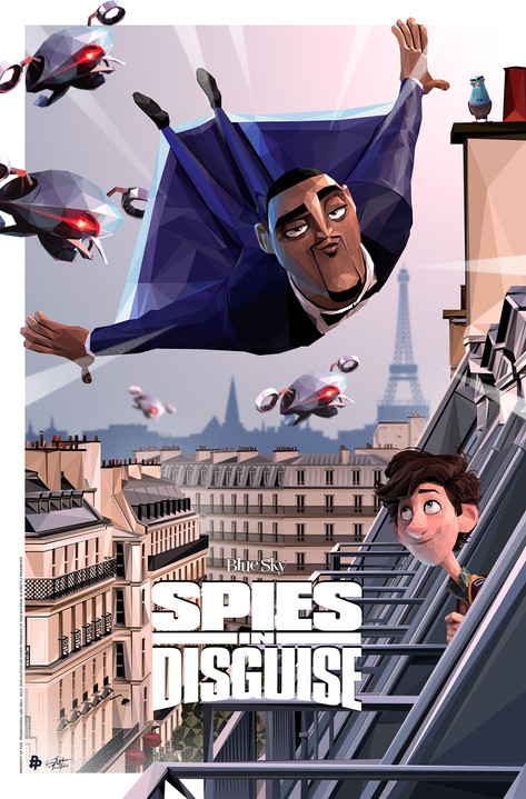 Official Poster for Spies in Disguise
