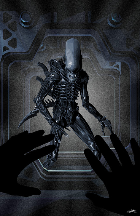 Official poster for Alien