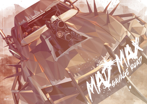 Mad Max video Games for Warner Bros.