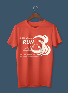 AAEM fun run T-shirt