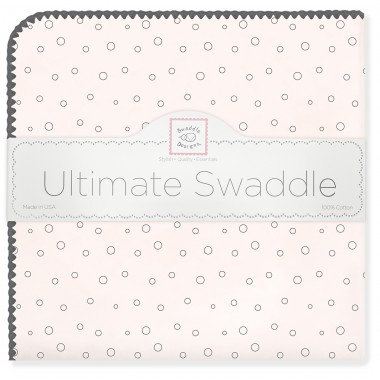 Ultimate Swaddle Blanket - Bubble Dots