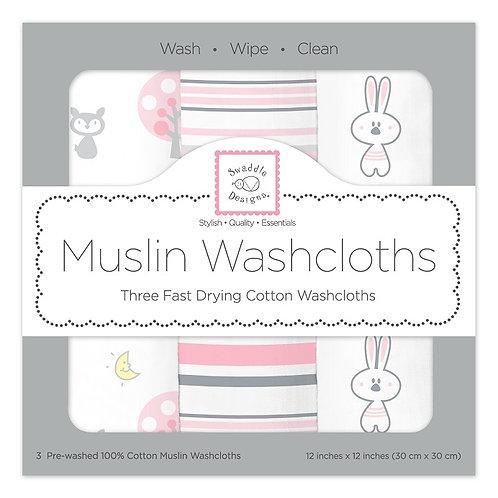 Muslin Washcloths - Thicket (Set of 3)