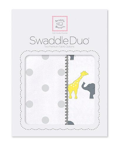 SwaddleDuo - Safari Fun (Set of 2)