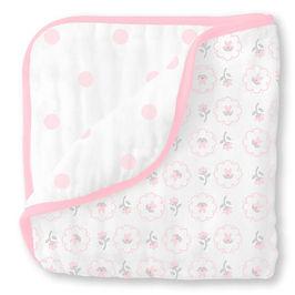 Little Beanstalk- SwaddleDesigns Muslin Luxe Blankets