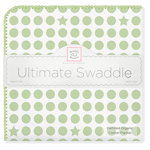 Organic Ultimate Swaddle Blanket - Dots and Stars