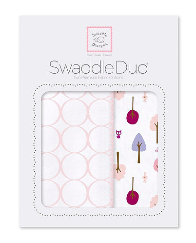 SwaddleDuo - Cute and Calm (Set of 2)