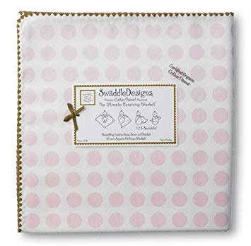 Organic Ultimate Swaddle Blanket - Dots and Hearts