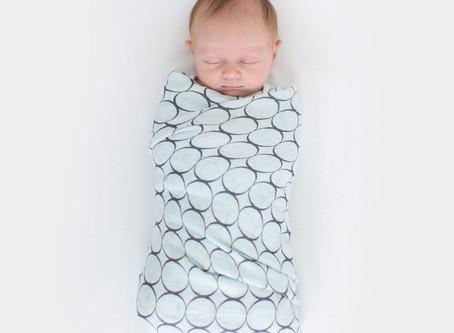 新手媽媽必修班: 包巾