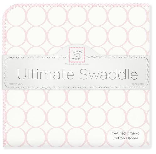 Organic Ultimate Swaddle Blanket - Mod Circles