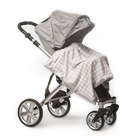 Little Beanstalk- SwaddleDesigns Stroller Blankets