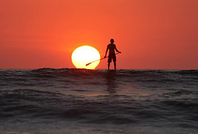 nosara stand up paddleboarding sup