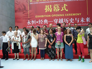 In 2012 I represented the United States at the 2nd Ceramic Symposium in Changchun China. One of 20 artists created 6 sculptures for the International Sculpture park in Changchun China.