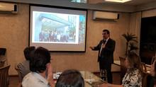 Dr. Rafael no lançamento do Instituto de Doenças Peritoneais de Pernambuco