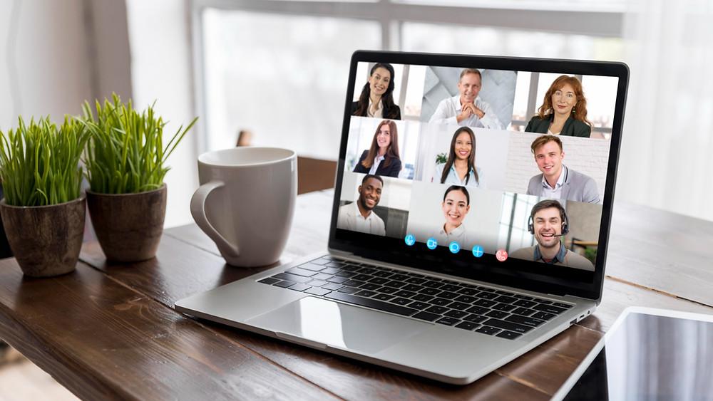 codzienne spotkania zespołu online