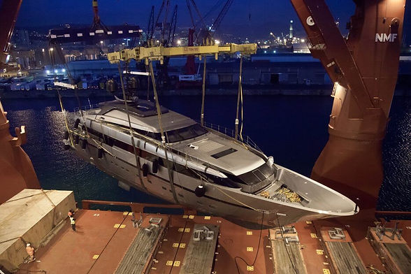 Transporte de Yates, transpor yachts pan