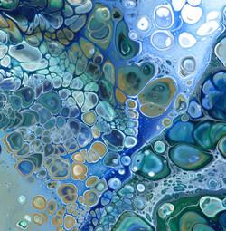 Blue Bubbles 2