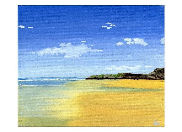 Deserted Sandymouth