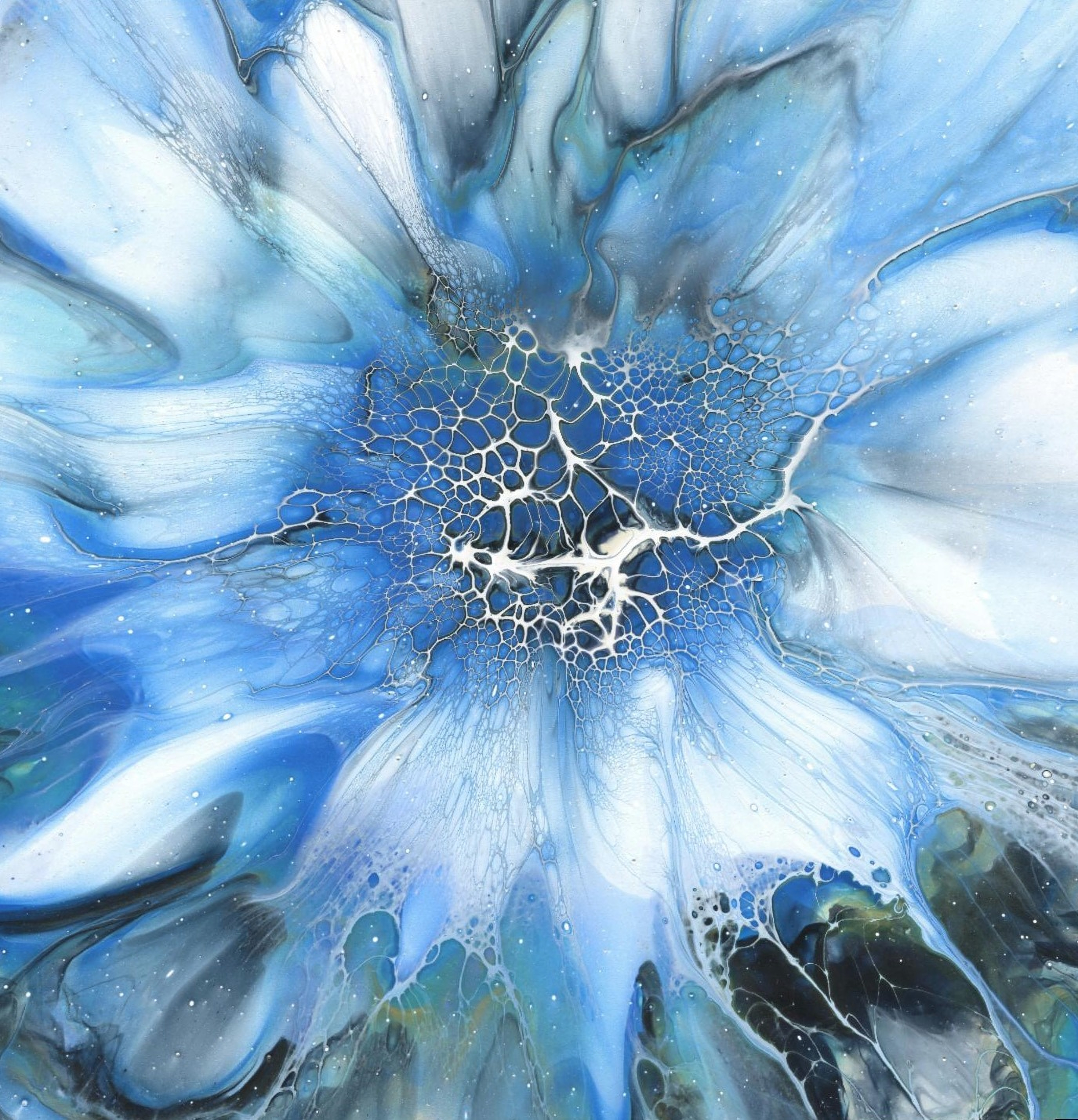 Sapphire Flower 1