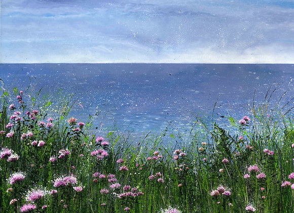 May Flowers by the Sea