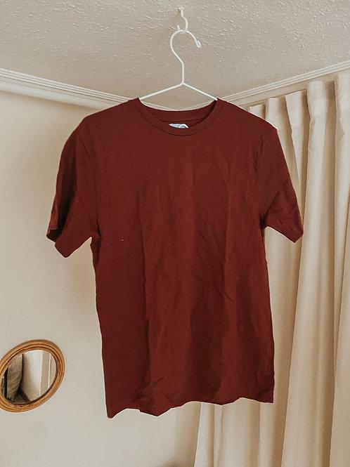 T-shirt Männer rostrot