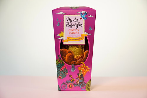 Monty Bojangles Choccy Scoffy Crown Easter Egg 200g