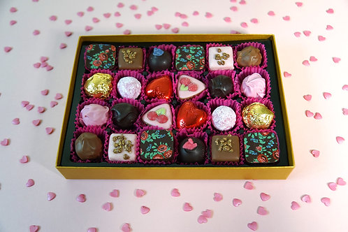 24 Love filled Chocolate Postal Selection Box