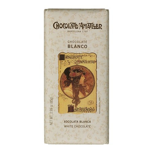 Amatller white Chocolate Bar 85g
