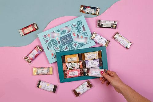 Chocolate Gift Box - 6 Pick 'n' Mix Handmade Chocolate Bars