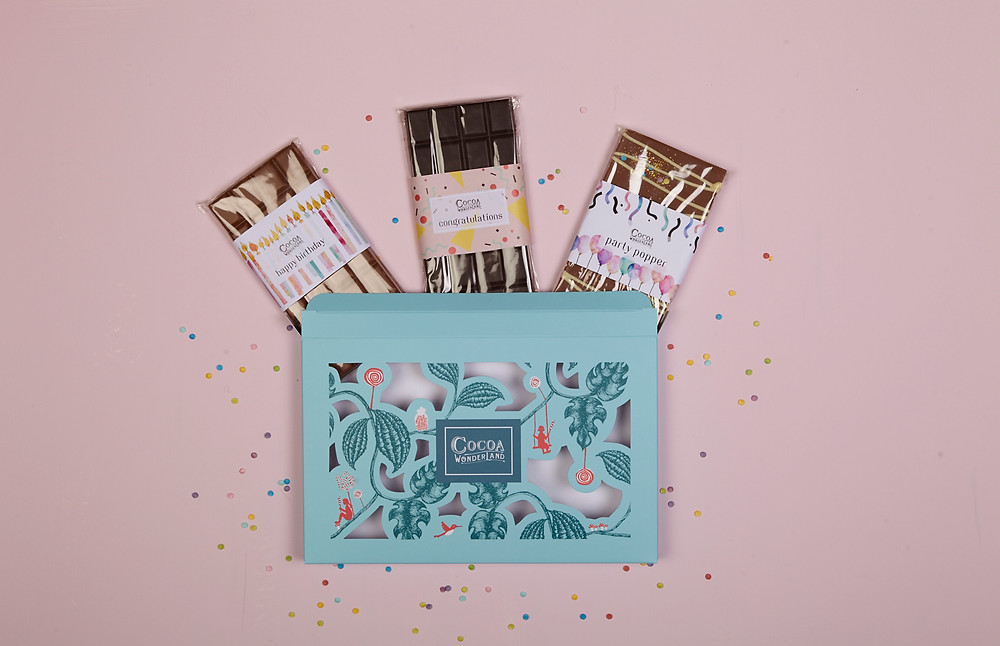 Cocoa Wonderland Happy Birthday Chocolate Gift Box
