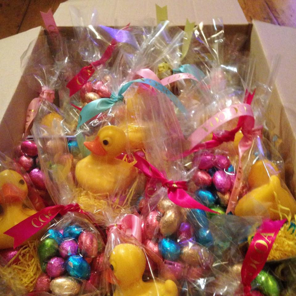 Chocolate 'rubber' ducks - £4