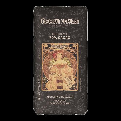 Amatller 70% Dark Chocolate Bar 85g